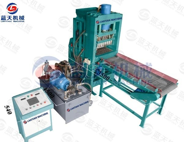 hollow bamboo charcoal making machine