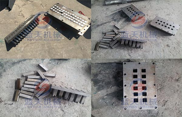 Mould effect of charcoal tablets press machine