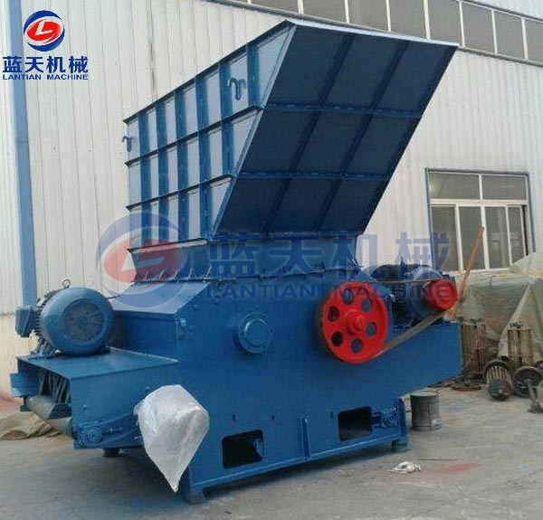 Working principle of tree stump shredder